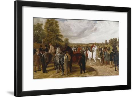 The Horse Fair, Southborough Common-Benjamin Herring I-Framed Art Print
