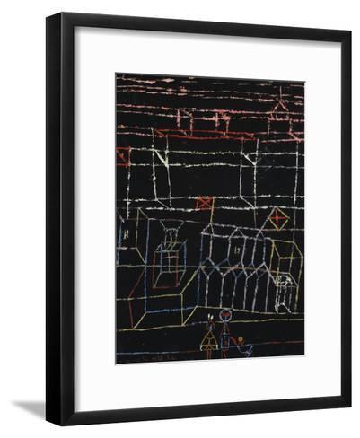Children of the City; Kinder Von Der Stadt-Paul Klee-Framed Art Print