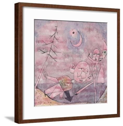 Scene at the Water; Scene Am Wasser-Paul Klee-Framed Art Print