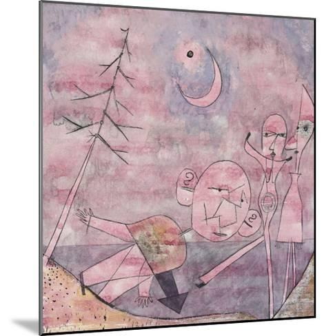 Scene at the Water; Scene Am Wasser-Paul Klee-Mounted Giclee Print