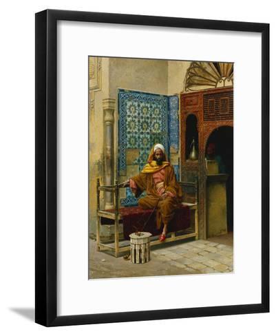 The Smoker; Le Fumeur-Ludwig Deutsch-Framed Art Print