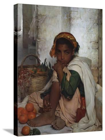 The Orange Seller-Felix-Auguste Clement (Circle of)-Stretched Canvas Print