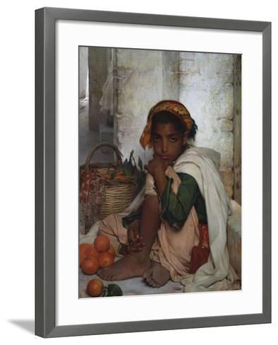 The Orange Seller-Felix-Auguste Clement (Circle of)-Framed Art Print