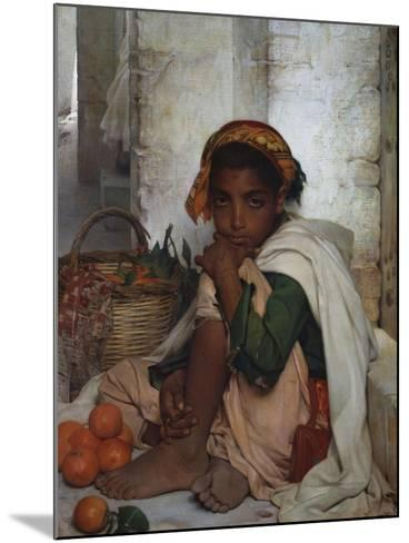 The Orange Seller-Felix-Auguste Clement (Circle of)-Mounted Giclee Print