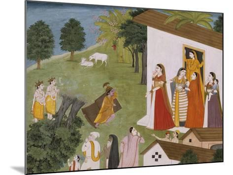 Illustration to the Bhagvata Purana--Mounted Giclee Print