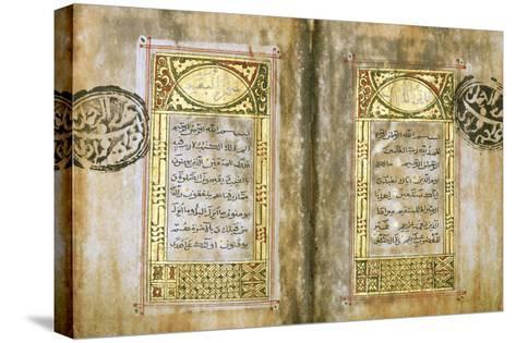 Miniature Qur'An--Stretched Canvas Print