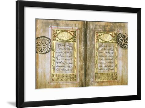 Miniature Qur'An--Framed Art Print