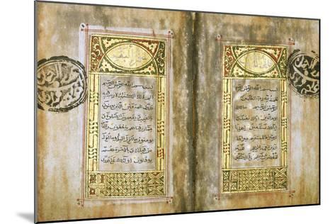 Miniature Qur'An--Mounted Giclee Print