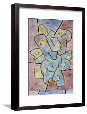 The Lemon Tree; Der Sauerbaum-Paul Klee-Framed Art Print