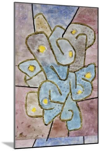 The Lemon Tree; Der Sauerbaum-Paul Klee-Mounted Giclee Print