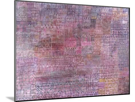 Cathedrals; Kathedralen-Paul Klee-Mounted Giclee Print