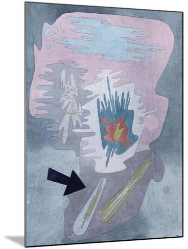 Still Life; Stilleben-Paul Klee-Mounted Giclee Print