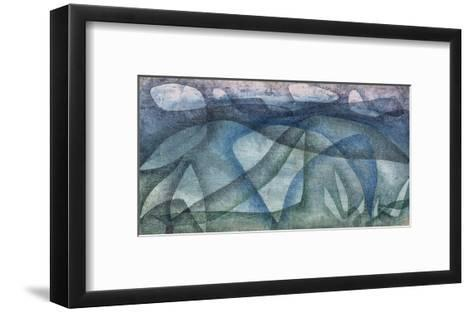 Rainy Day; Regentag-Paul Klee-Framed Art Print