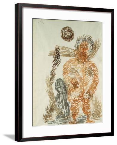The Power of the Giant; Gewalt Den Riesen-Paul Klee-Framed Art Print