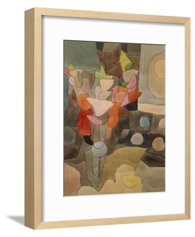Still Life with Gladioli; Gladiolen Still Leben-Paul Klee-Framed Art Print