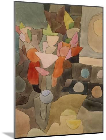 Still Life with Gladioli; Gladiolen Still Leben-Paul Klee-Mounted Giclee Print