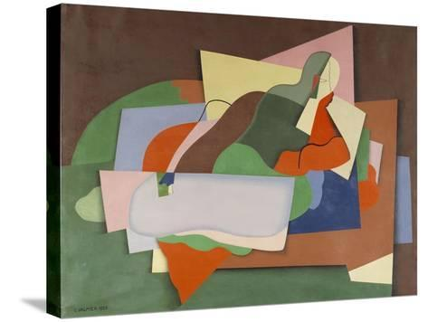 Reclining Nude; Nu Allonge-Georges Valmier-Stretched Canvas Print