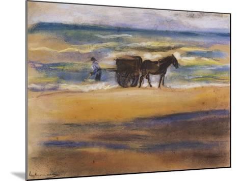 Muschelsucher Am Strand-Max Liebermann-Mounted Giclee Print