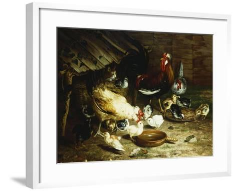 Feeding Time-Ignace Spiridon-Framed Art Print