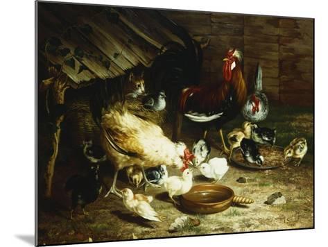 Feeding Time-Ignace Spiridon-Mounted Giclee Print