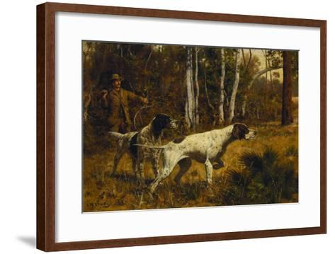 On the Point-John M. Tracy-Framed Art Print