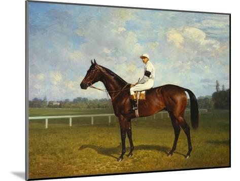 The Racehorse, 'Northeast' with Jockey Up-Emil Adam-Mounted Giclee Print