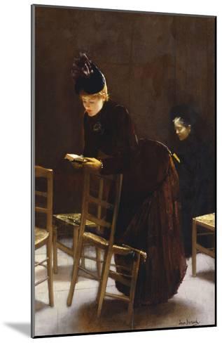 Woman at Prayer; Femme En Priere-Jean B?raud-Mounted Giclee Print