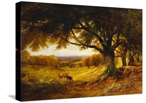 Spithead, Uppark, Sussex-George Cole-Stretched Canvas Print