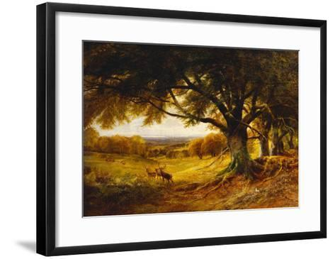 Spithead, Uppark, Sussex-George Cole-Framed Art Print