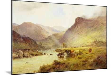 The Banks O'Doune-Alfred De Breanski, Sr^-Mounted Giclee Print