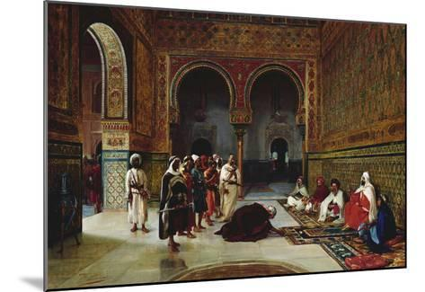An Oath of Allegiance in the Hall of the Abencerrajes, Alhambra, Granada-Filippo Baratti-Mounted Giclee Print
