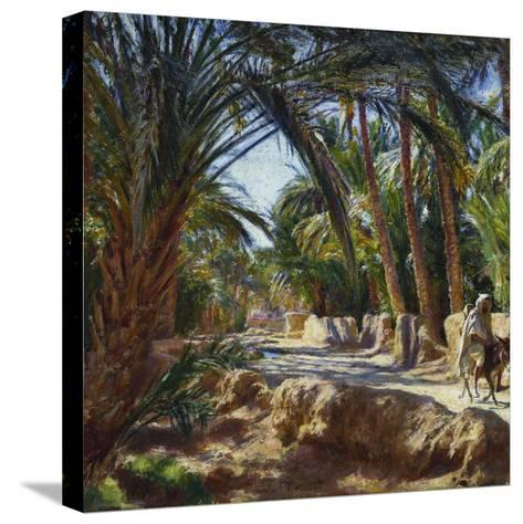 On the Road to Biskra-Emile Friant-Stretched Canvas Print