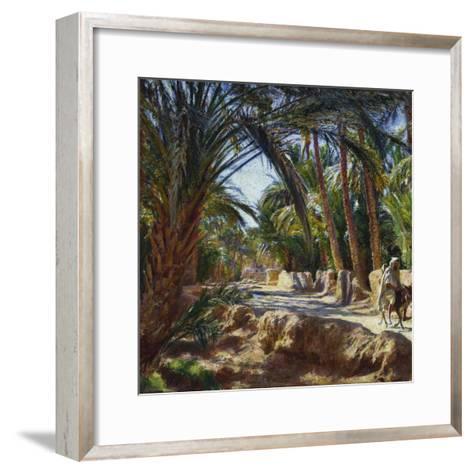 On the Road to Biskra-Emile Friant-Framed Art Print