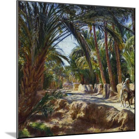 On the Road to Biskra-Emile Friant-Mounted Giclee Print