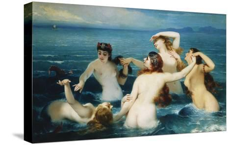 Sirens; Syrenes-Charles Edouard Boutibonne-Stretched Canvas Print