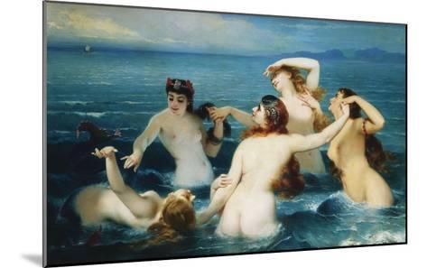 Sirens; Syrenes-Charles Edouard Boutibonne-Mounted Giclee Print