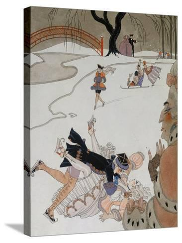 Vlan-Georges Barbier-Stretched Canvas Print