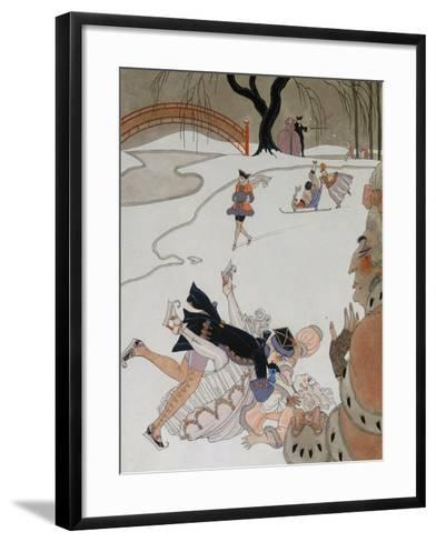 Vlan-Georges Barbier-Framed Art Print