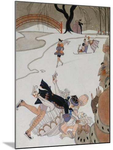 Vlan-Georges Barbier-Mounted Giclee Print