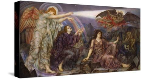 The Searchlight-Evelyn De Morgan-Stretched Canvas Print
