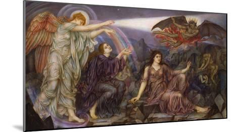 The Searchlight-Evelyn De Morgan-Mounted Giclee Print