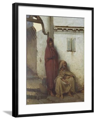 Arab Mendicants-Jean Raymond Hippolyte Lazerges-Framed Art Print