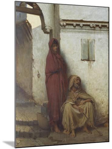 Arab Mendicants-Jean Raymond Hippolyte Lazerges-Mounted Giclee Print