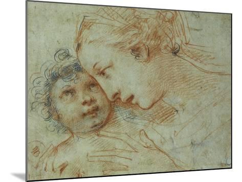 The Madonna and Child-Carlo Francesco Nuvolone-Mounted Giclee Print