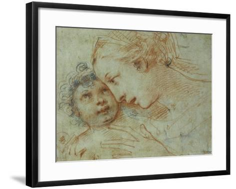 The Madonna and Child-Carlo Francesco Nuvolone-Framed Art Print