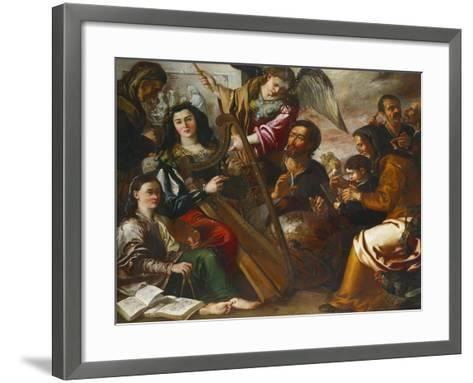 Personifications of the Liberal Arts-Miguel March-Framed Art Print