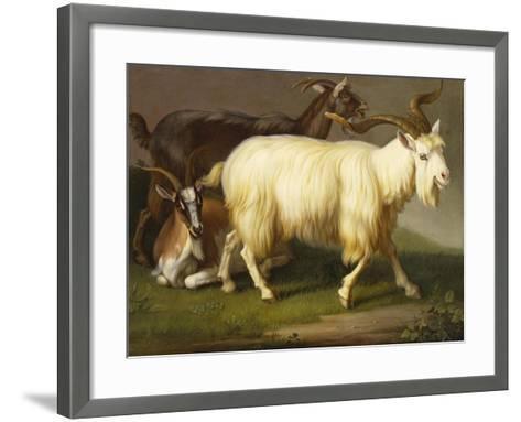 Billy Goats-Johan Wenzel Peter-Framed Art Print