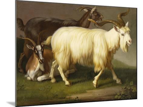Billy Goats-Johan Wenzel Peter-Mounted Giclee Print