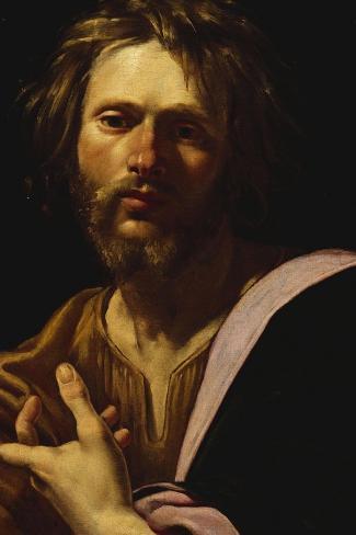 Saint Luke-Simon Vouet-Stretched Canvas Print