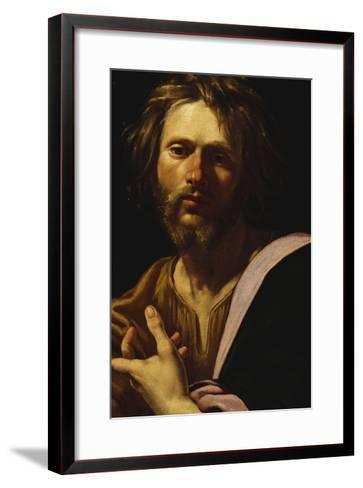 Saint Luke-Simon Vouet-Framed Art Print